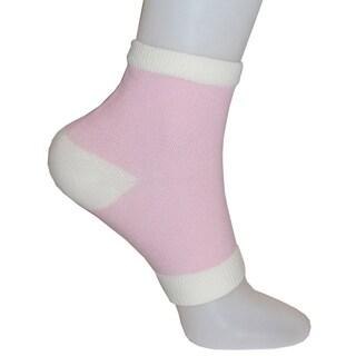 Vintage Home Hydrating Vitamin-and-Oil-Infused Open-Toe Gel Heel Socks