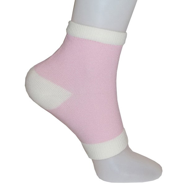 Vintage Home Hydrating Vitamin-and-Oil-Infused Open-Toe Gel Heel Socks