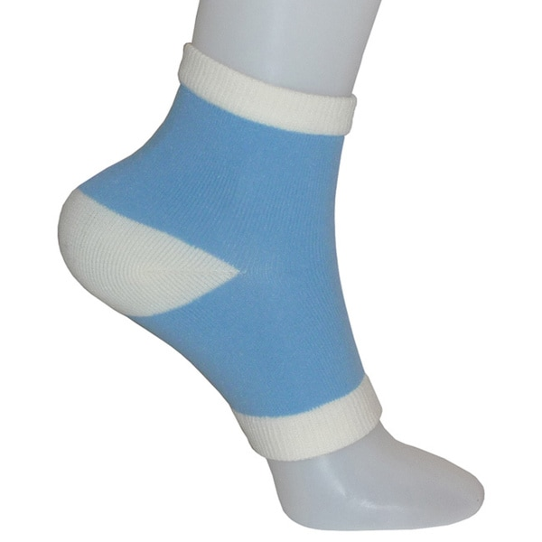 Vintage Home Hydrating Vitamin and Oil Infused Gel Heel Socks