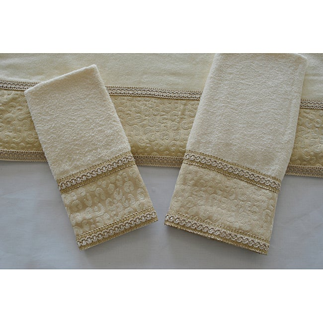 Sherry Kline Natural Cheetah  Decorative 3-piece Towel Set