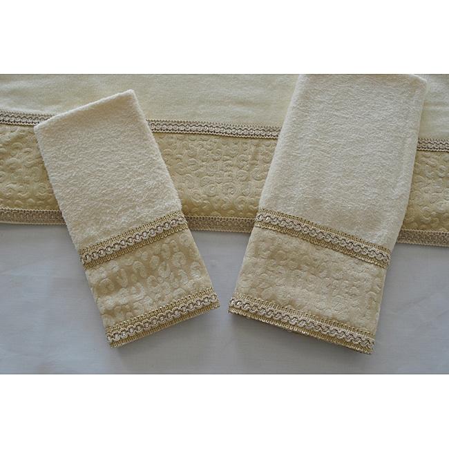 Sherry Kline Natural Cheetah Decorative 3-piece Towel Set