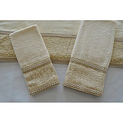 Sherry Kline Natural Cheetah Decorative 3-piece Towel Set - Thumbnail 0