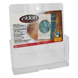 Eldon Exhibitors Single-tier Clear Literature Holders (Set of 4) - Thumbnail 0