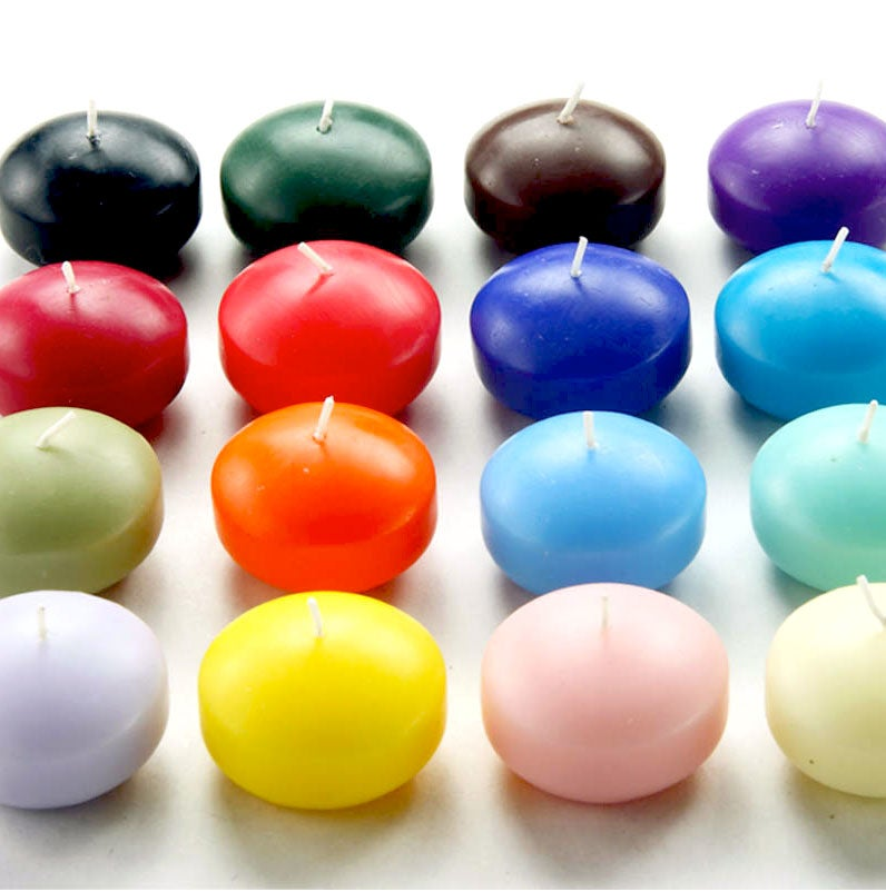 1.75-inch Floating Candles (Pack of 24)