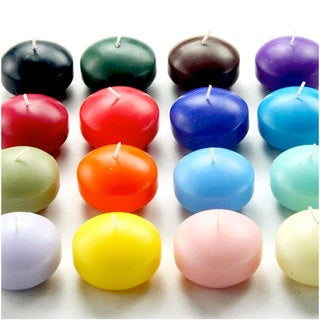 1.75-inch Floating Candles (Pack of 24) - 1.75 x 1
