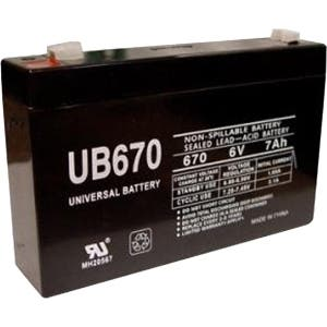 eReplacements Compatible SLA Battery Replaces APC UB670, TrippLite UB670, for use in Tripp Lite BC275, Tripp Lite BC500/A