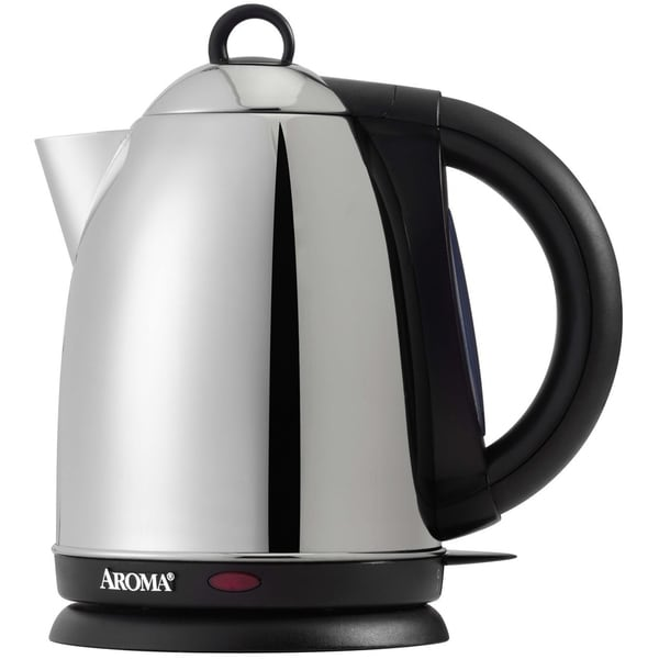 Aroma Stainless Steel 1.7-liter Electric Water Kettle