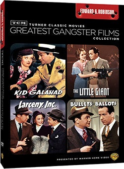 TCM Greatest Classic Films: Gangsters - Edward G. Robinson (DVD)