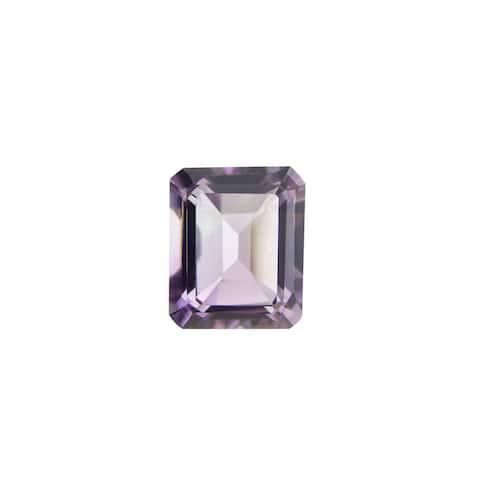 Glitzy Rocks Emerald-cut 8x6mm 1 1/2ct TGW Amethyst Stone