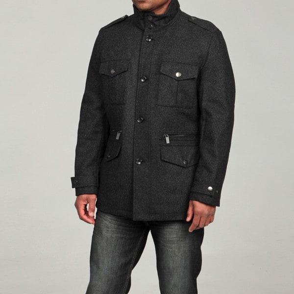 0a583479261a Shop MICHAEL Michael Kors Men s Wool Blend Field Coat FINAL SALE ...