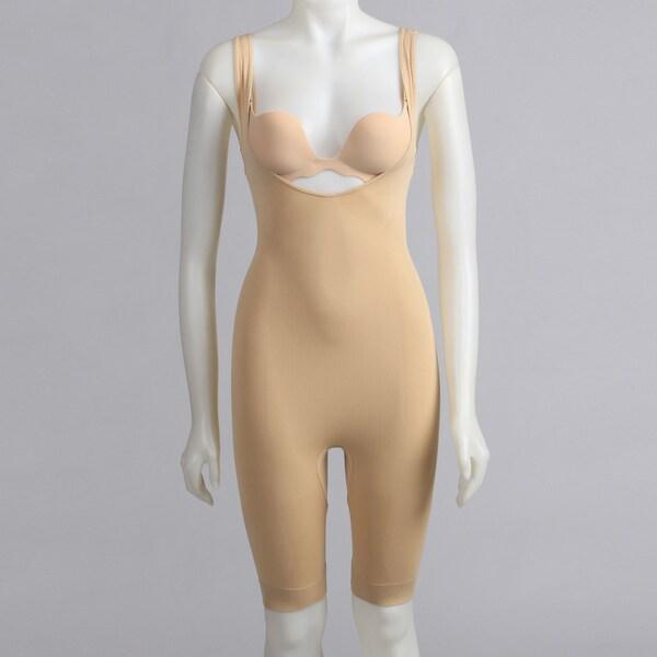 Magic Curves Women's Nude Full Body Long Leg Shapewear