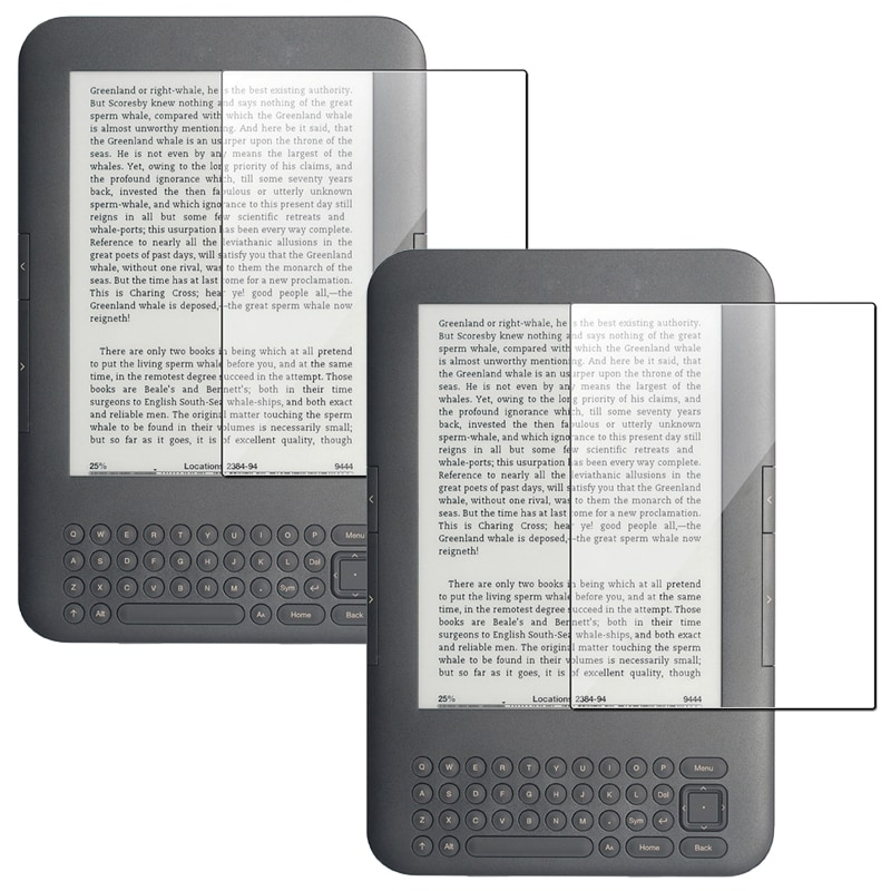 Anti-Glare Screen Protector for Amazon Kindle 3 (Pack of 2)