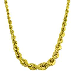 Fremada Gold over Sterling Silver Graduated Rope Necklace|https://ak1.ostkcdn.com/images/products/6403419/78/552/Fremada-Gold-over-Sterling-Silver-Graduated-Rope-Necklace-P14013577.jpg?impolicy=medium