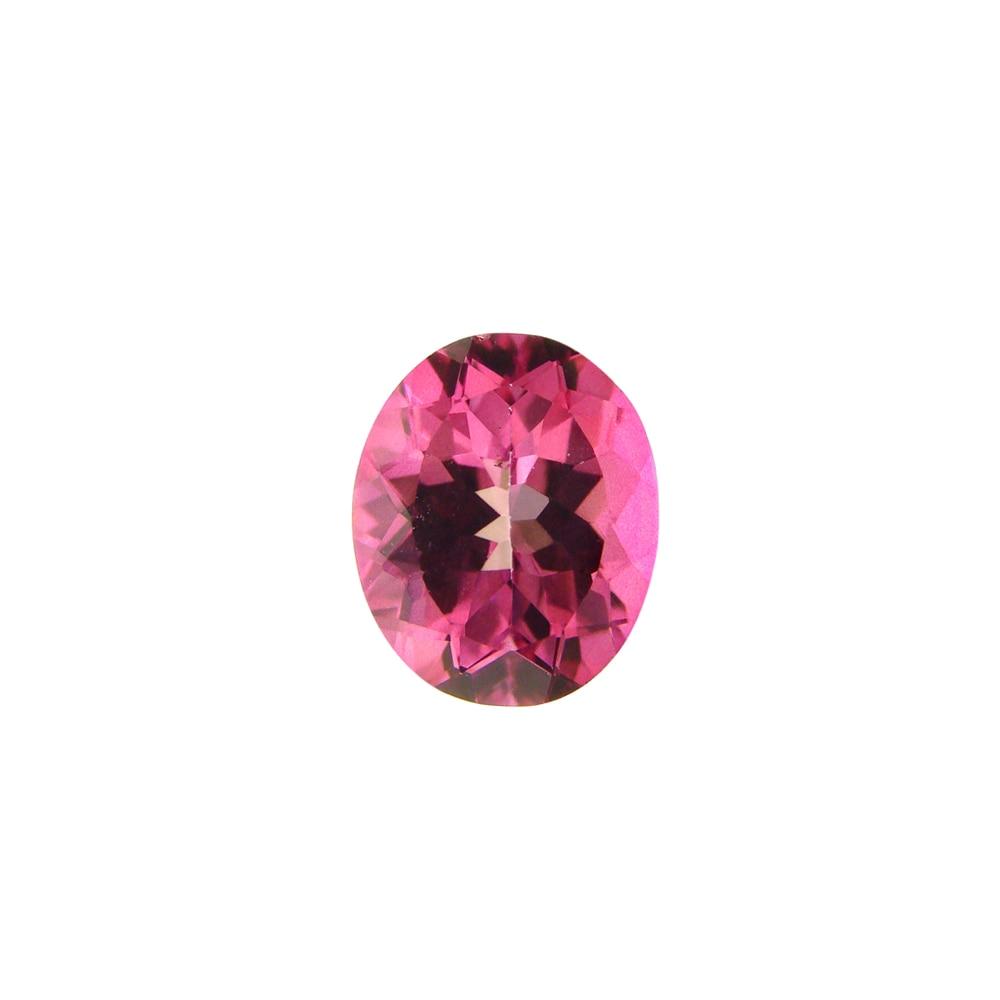 Glitzy Rocks Oval-cut 11x9mm 3 3/5ct TGW Pink Topaz Stone