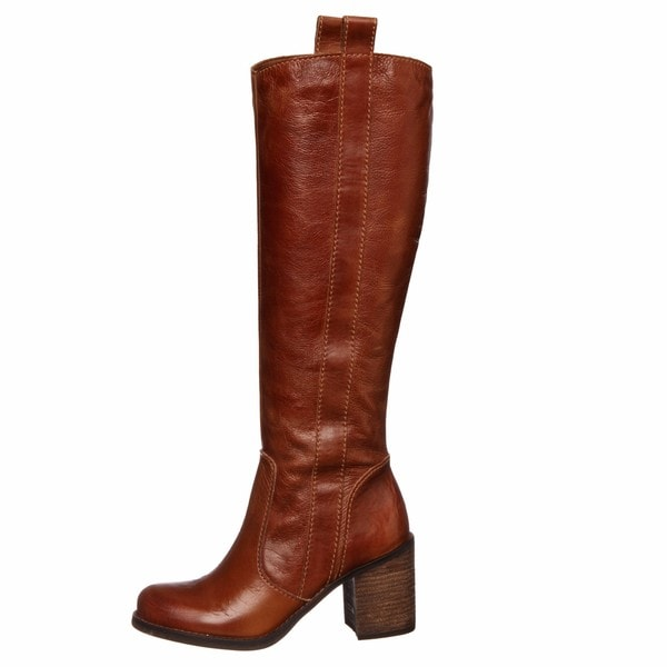 Woper' Cognac Riding Boots FINAL SALE