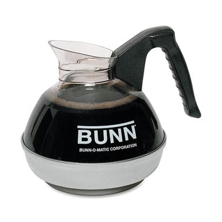 Bunn Easy Pour Black/ Glass 12-cup Coffee Decanter