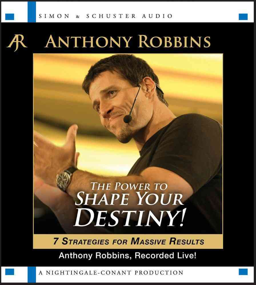 The Power to Shape Your Destiny: 7 Strategies for Massive Results (CD-Audio) - Thumbnail 0