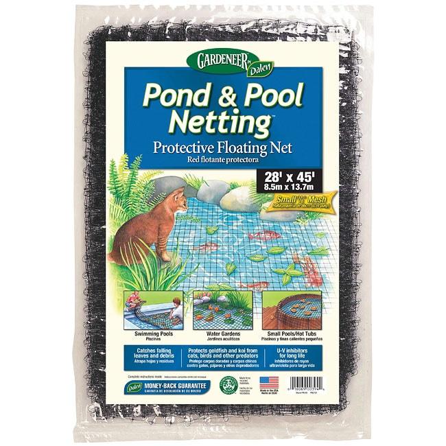 DALEN 3/8-inch Mesh Pond Netting (28' x 45') (Dalen 28'x4...