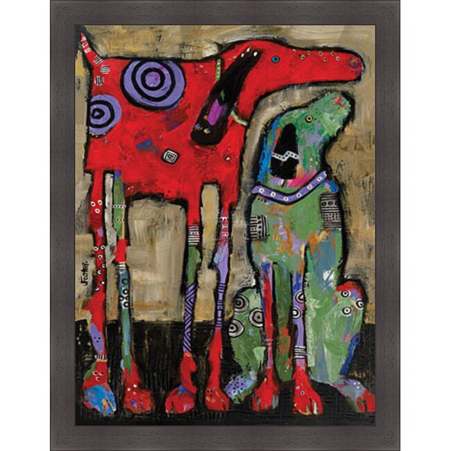Jenny Foster 'Wait and Stay' Framed Print Art