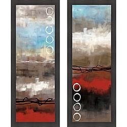 Laurie Maitland 'Elements I & II' Framed Print Art - Thumbnail 0