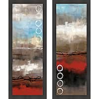 Laurie Maitland 'Elements I & II' Framed Print Art