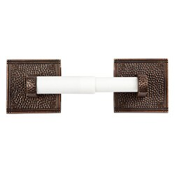 The Copper Factory Handcrafted Copper Toilet Tissue Holder
