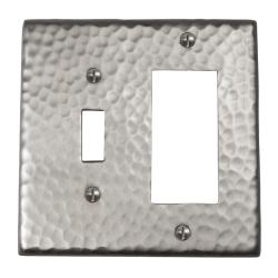 Solid Copper 1-Switch 1 GFI Combination