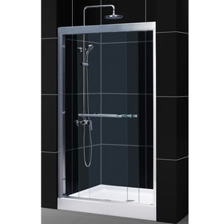DreamLine Duet 44 - 48-inch Frameless Bypass Sliding Shower Door