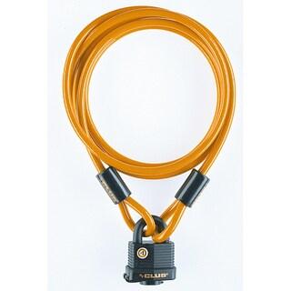 Weatherproof Padlock 7-foot Cable Combination Set