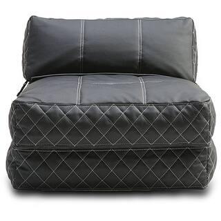 Austin Black Bean Bag Chair Bed