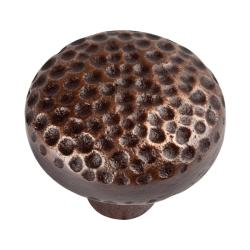 Copper Factory Large Round Copper Cabinet Knob (Set of 4)