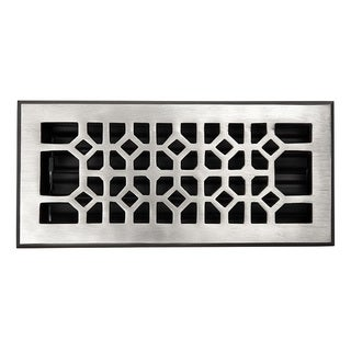 Copper Factory Solid Copper 4-inch x 10-inch Floor Register