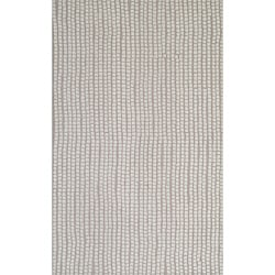 "Quarry Beige Hand-Tufted Wool Rug (3'6"" x 5'6"")"
