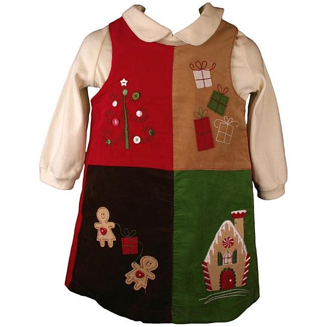 BT Kids Holiday Jumper Dress