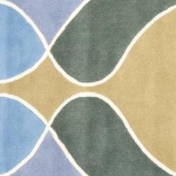 Safavieh Handmade Tiff Grey New Zealand Wool Rug (6' Square) - Thumbnail 2