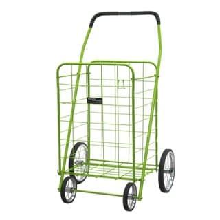 Narita Trading Company Green Jumbo Shopping Cart