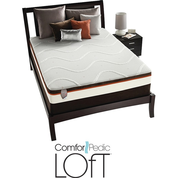 ComforPedic Loft Rhinecliff Plush Queen-size Mattress Set
