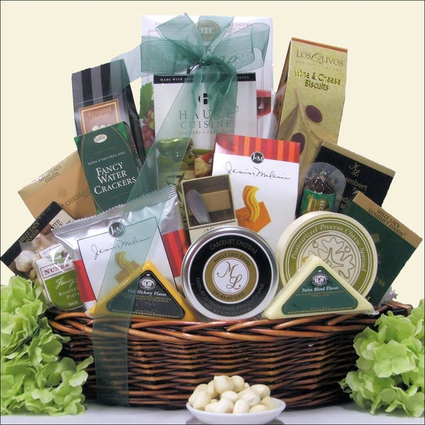 Great Arrivals Gourmet Cheese Extravaganza Gift Basket
