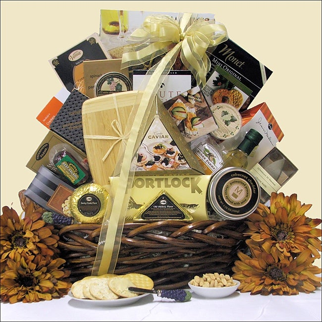 Great Arrivals The Connoisseur Gourmet Cheese Gift Basket