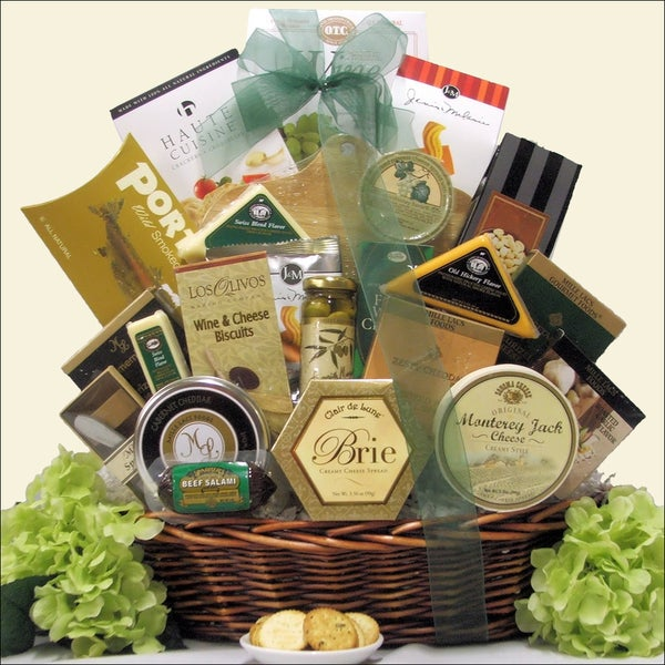 Great Arrivals Lasting Impressions Gourmet Cheese Gift Basket