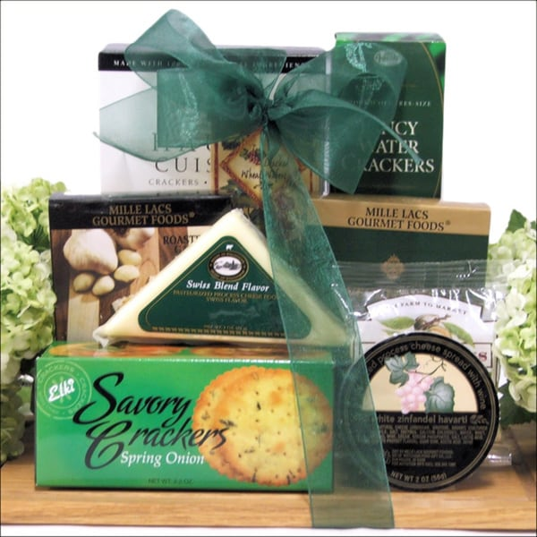 Great Arrivals Cheese Board Treats Gourmet Gift Set