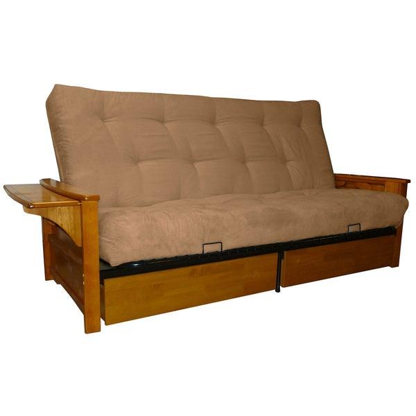 futon sofa beds direct ebay microfiber suede inner spring queen size bed sleeper mexico argos