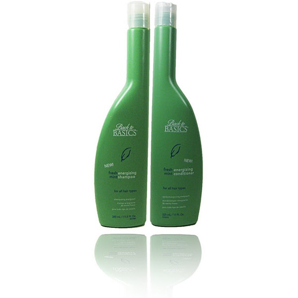Back To Basics Fresh Mint Energizing Shampoo and Conditioner