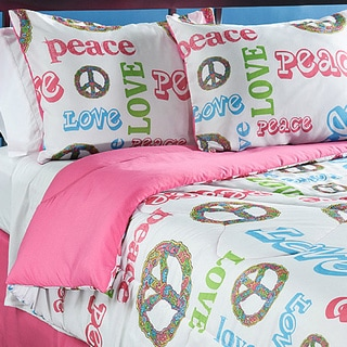 Shop Peace Time Queen Size 4 Piece Comforter Set   Free Shipping Today    Overstock.com   6407915