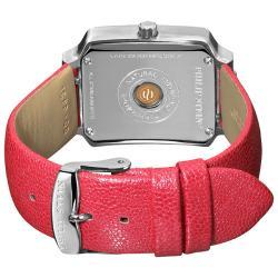 Philip Stein Women's Classic Pink Leather Strap Watch