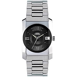 Hush Puppies Men's Stainless Steel Gunmetal Dial Watch