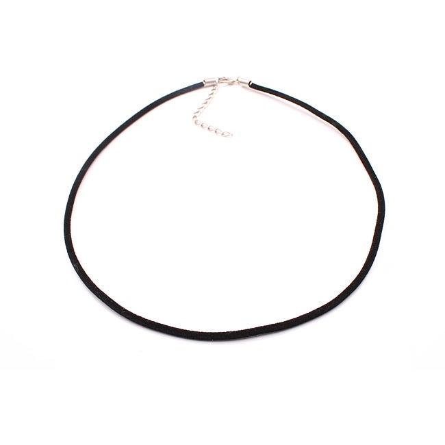 Handmade Black Velvet Necklace Cord (Pack of 2)