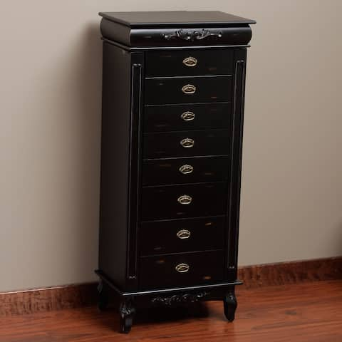 Morre 8-drawer Jewelry Armoire