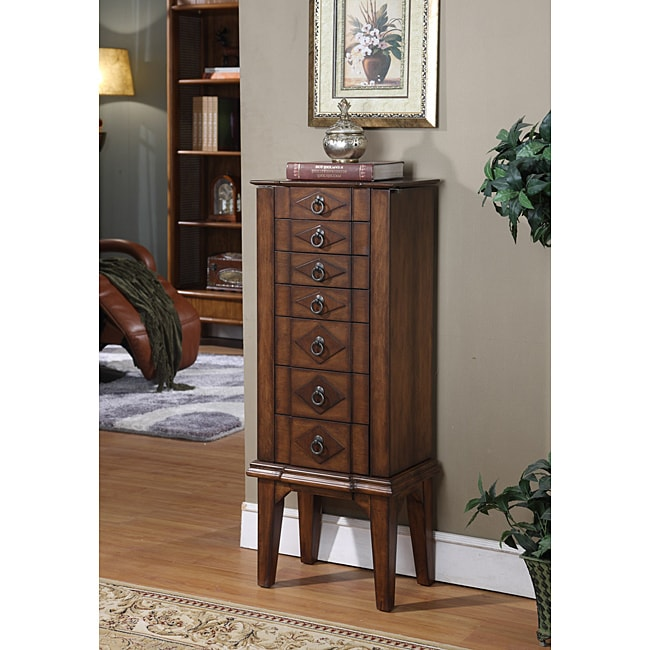 Caman Six-Drawer Jewelry Armoire - Thumbnail 0