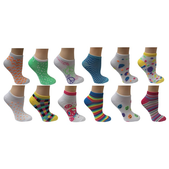 Vintage Home Women's Mix and Match Socks (Pack of 6)